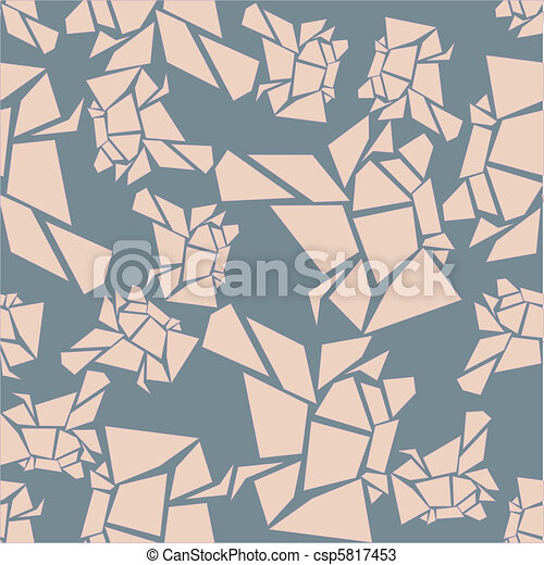 seamless chunky pink pattern - csp5817453