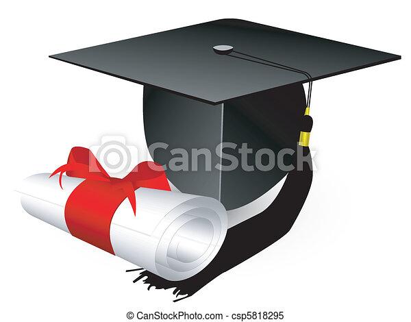 cap and diploma - csp5818295