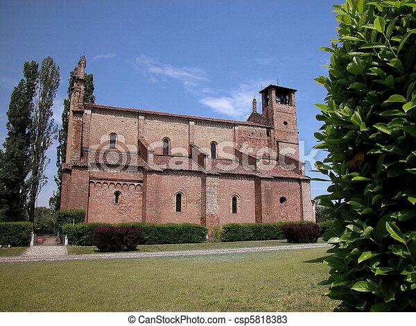 Basilica San Bassiano, Italy - csp5818383