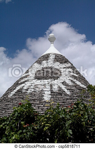 Trulli houses in Alberobello - csp5818711