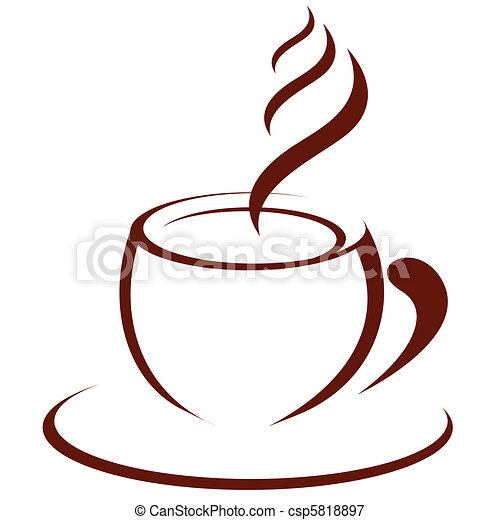 Hot coffee - csp5818897