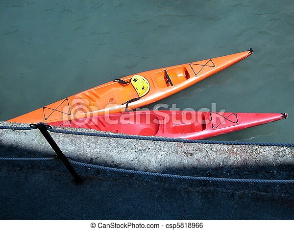 Two canoes - csp5818966