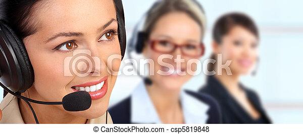 Customer service - csp5819848