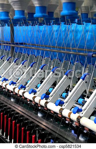 Textile factory - csp5821534
