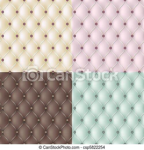 Set genuine leather texture  - csp5822254