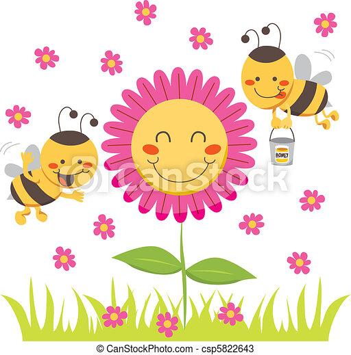 Honey Bee - csp5822643