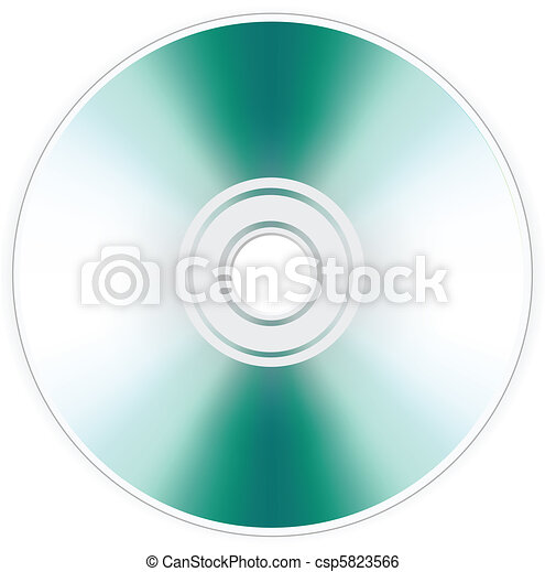 disk dvd cd isolated - csp5823566