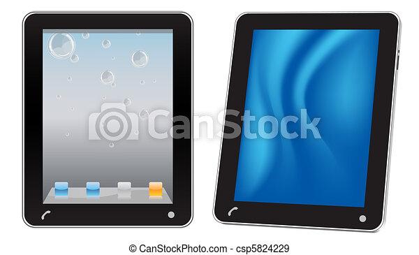 Touchscreen tablet computer - csp5824229