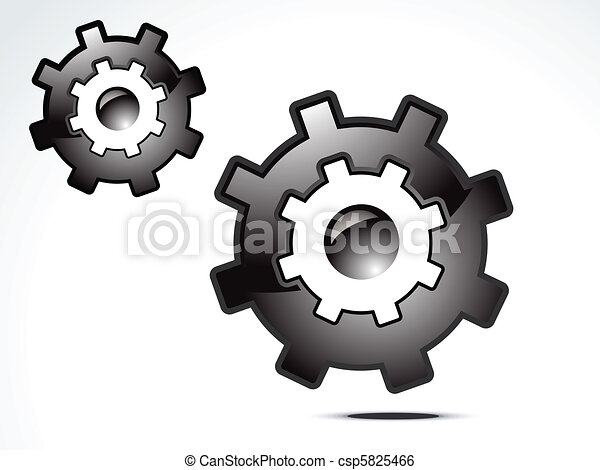 abstract setting icon - csp5825466