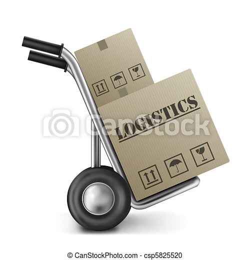 logistics cardboard box hand truck - csp5825520