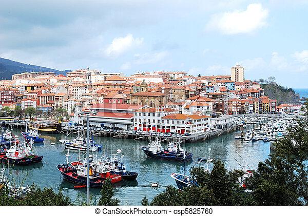 Bermeo, Basque Country, Spain - csp5825760