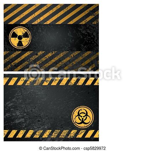 danger warning background - csp5829972