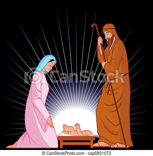 Nativity - csp5831073