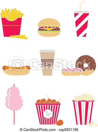 Fast food - csp5831186