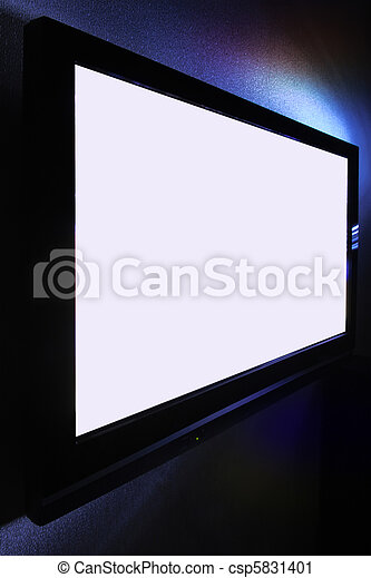 Big pasma HDTV screen - csp5831401