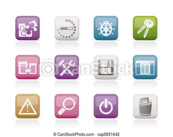 developer, programming, application - csp5831642