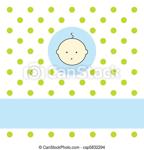Baby arrival card - csp5832294