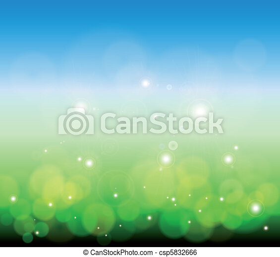 Glowing Lights background. Vector - csp5832666