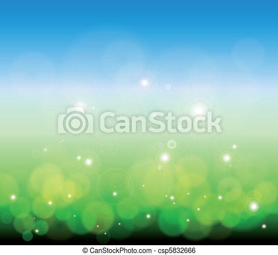 Glowing Lights background. Vector - csp5832666