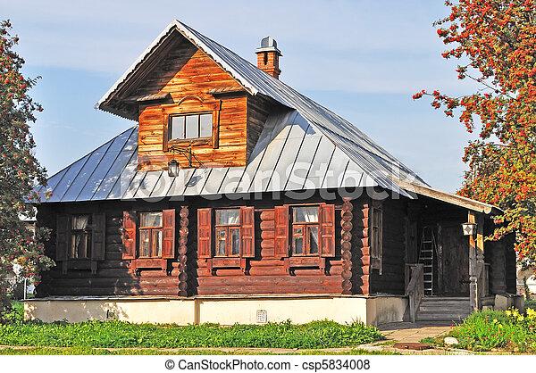 images de bois vendange maison rowan trees porche beau brun csp5834008 recherchez. Black Bedroom Furniture Sets. Home Design Ideas