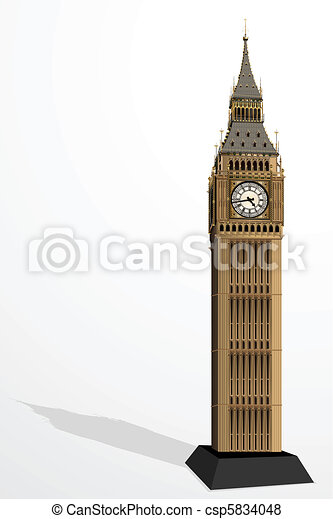Big Ben Tower - csp5834048