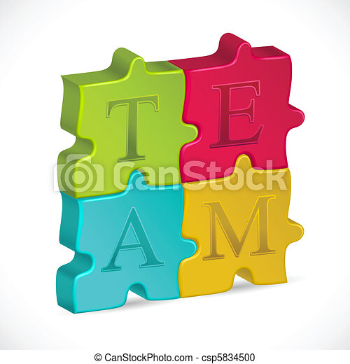 Team Jigsaw Puzzle - csp5834500