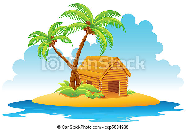 Hut In Island 5834938 on Small Vacation Home House Plans