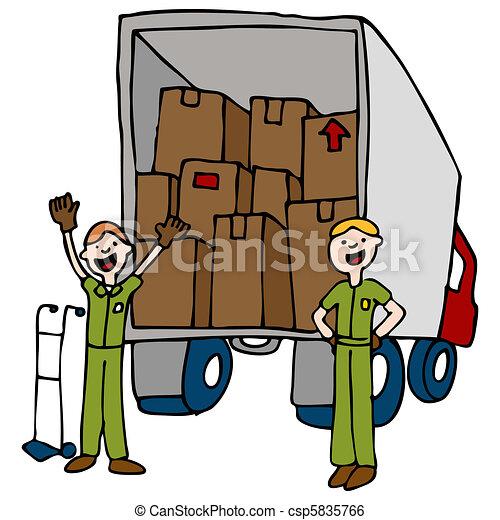 Friendly Moving Company - csp5835766