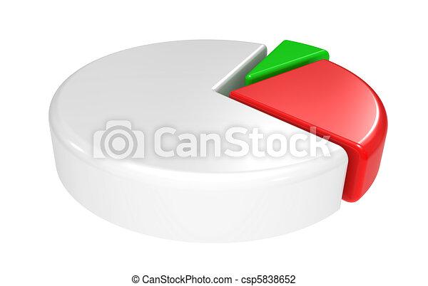 Business diagram 3d - csp5838652