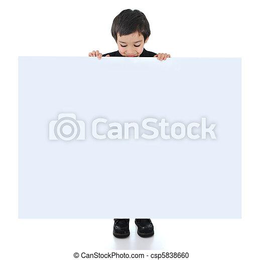 posetive kid  - csp5838660