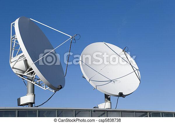 Communication satellites - csp5838738