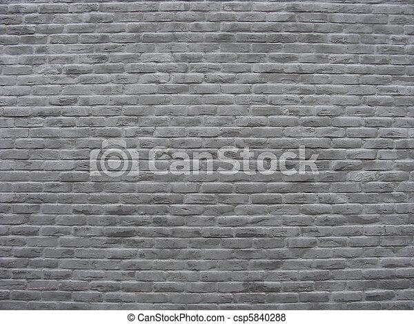 Images de brique mur peint doux teintes gris Mur de brique gris