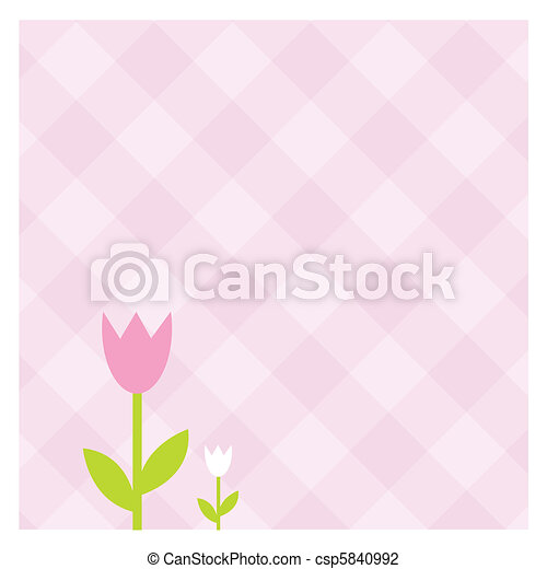 Spring banners - csp5840992