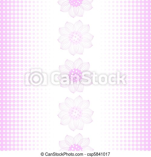 Repeating pink-white pattern - csp5841017