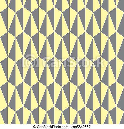 seamless crest in yellow and gray - csp5842867