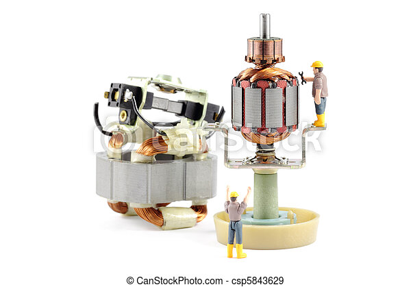 Electric Motor Repair - csp5843629