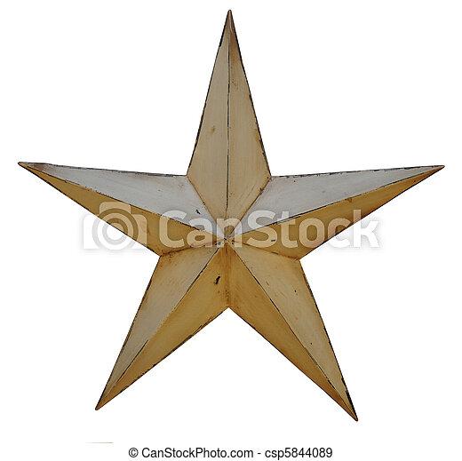Antique Star - csp5844089