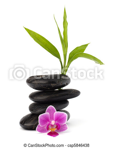 Zen pebbles balance. Spa and healthcare concept. - csp5846438