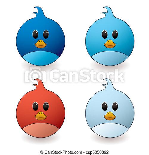 twit bird - csp5850892