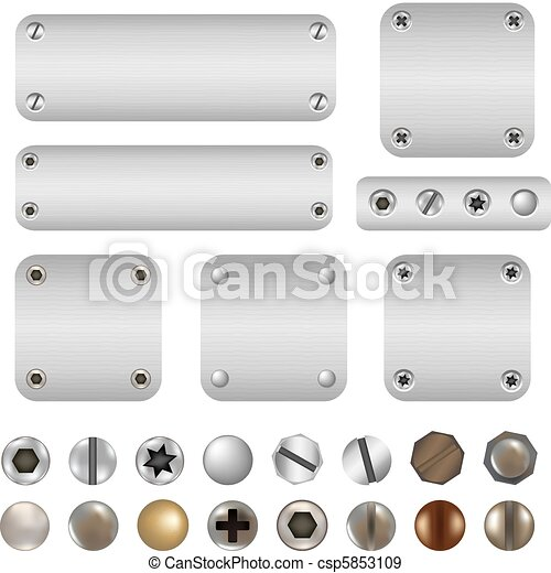 Screws And Bolts - csp5853109