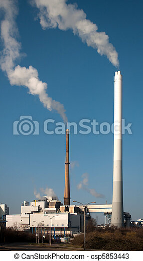 Waste incineration plant - csp5853443