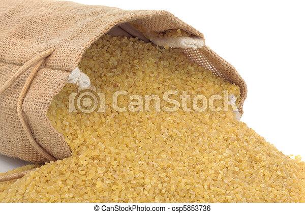 Bulgur Wheat - csp5853736