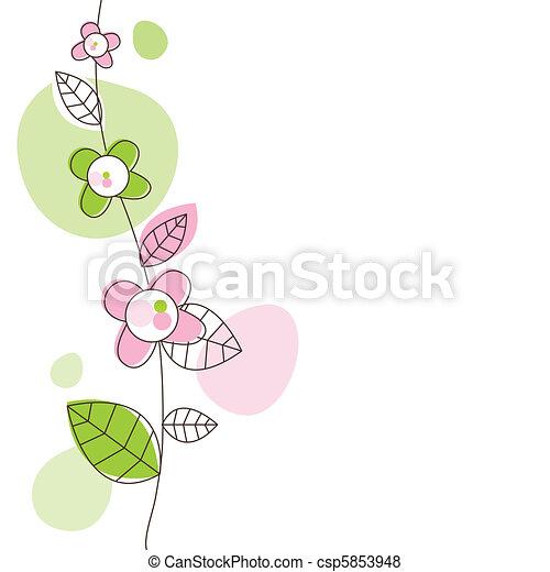 Greeting card - csp5853948