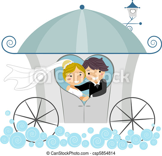 Wedding Carriage - csp5854814