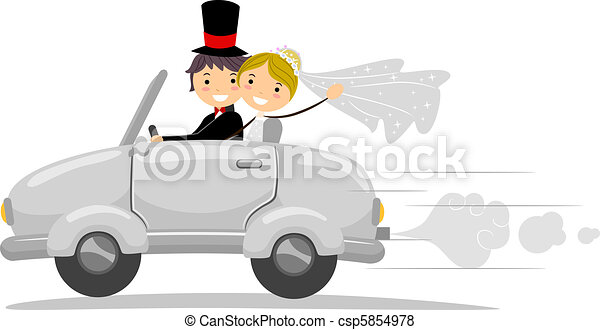 Wedding Car - csp5854978