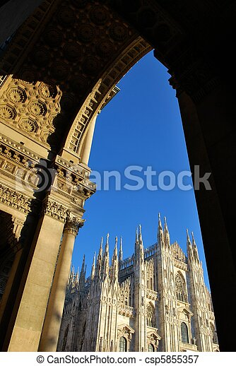 Cathedral of Milan - csp5855357