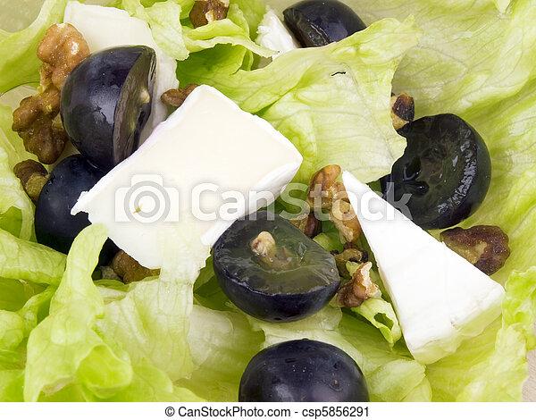 Closeup picture of tasty salad - csp5856291