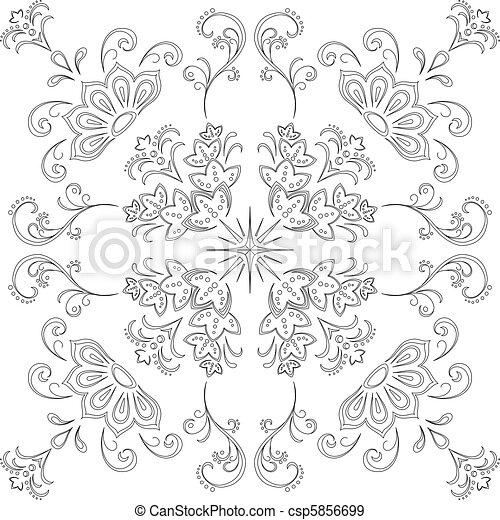 Abstract background, contour - csp5856699