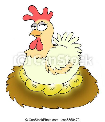 golden eggs - csp5858470