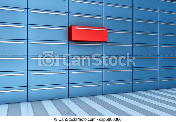 Open drawer - csp5860866